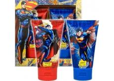 Superman šampon na vlasy pro děti 150 ml + sprchový gel 150 ml, kosmetická sada