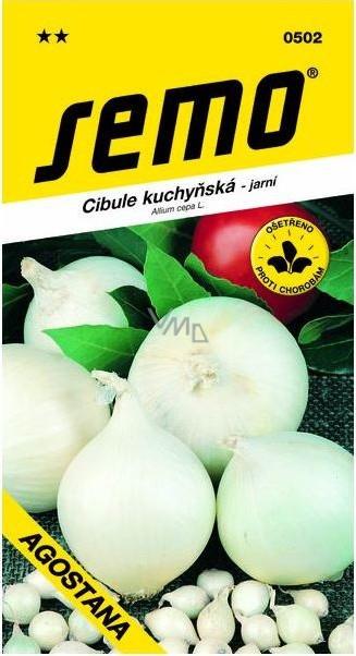 Semo Cibule kuchyňská jarní bílá Agostana 1 g