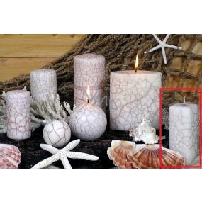 Lima Nevada svíčka bílá hranol 45 x 120 mm 1 kus