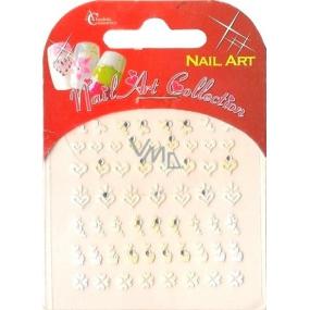 Absolute Cosmetics Nail Art samolepící nálepky na nehty 3DS250 1 aršík