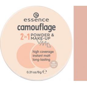 Essence Camouflage pudr a make-up 2v1 40 Honey Beige 9 g