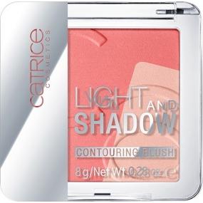 Catrice Light And Shadow Contouring Blush tvářenka 020 A Flamingo In Santo Domingo 8 g