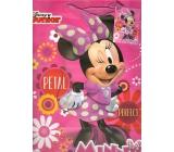 Ditipo Dárková papírová taška 26,4 x 12 x 32,4 cm Disney Minnie, Petal perfect