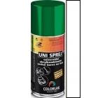 Colorlak Uni univerzální akrylkombinační barva sprej 1000 Bílý lesk 160 ml