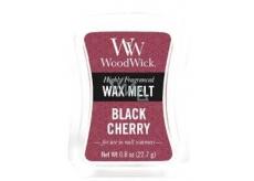WoodWick Black Cherry - Černá třešeň vonný vosk do aromalampy 22.7 g