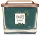 Yankee Candle Frosted Fir - Ojíněná jedle sojová vonná svíčka Elevation střední sklo 3 knoty 347 g