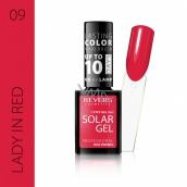 Revers Solar Gel gelový lak na nehty 09 Lady in Red 12 ml