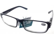 Berkeley Čtecí dioptrické brýle +4,0 plast černé 1 kus MC2062