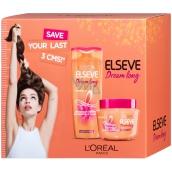 Loreal Paris Elseve Dream Long obnovující šampon na vlasy 250 ml + SOS maska na vlasy 300 ml, kosmetická sada