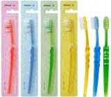 Spokar 3416 Clinic Hard tvrdý zubní kartáček, vlákna s rovným zástřihem a precizně zaoblenými konci