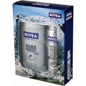 Nivea Kazsilverl sprchový gel 250 ml + antiperspirant sprej 150 ml,pro muže kosmetická sada