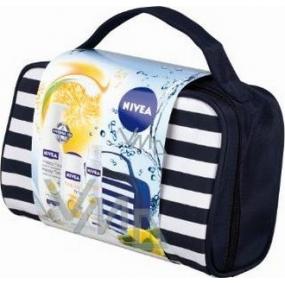 Nivea Kazhappy tělové mléko 400 ml + sprchový gel 250 ml + antiperspirant 150 ml + taška, pro ženy kosmetická sada