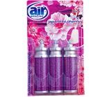 Air Menline Japanese Cherry Happy spray osvěžovač náhradní náplň 3 x 15 ml
