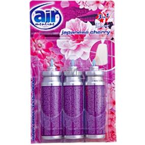 Air Menline Japanese Cherry Happy Osvěžovač náhradní náplň 3 x 15 ml sprej