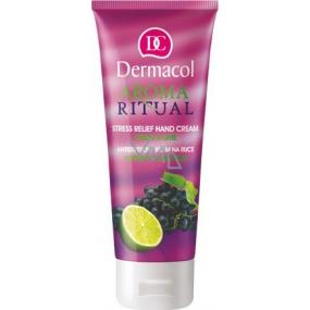 Dermacol Aroma Ritual Hrozny s limetkou Antistresový krém na ruce 100 ml