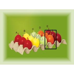 Lima Aromatické vajíčko svíčka oranžová D 40 x 60 mm 1 kus