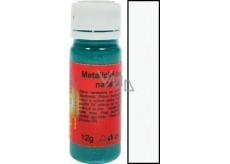 Art e Miss Barva na světlý i tmavý textil 11 metalická Bílá 12 g