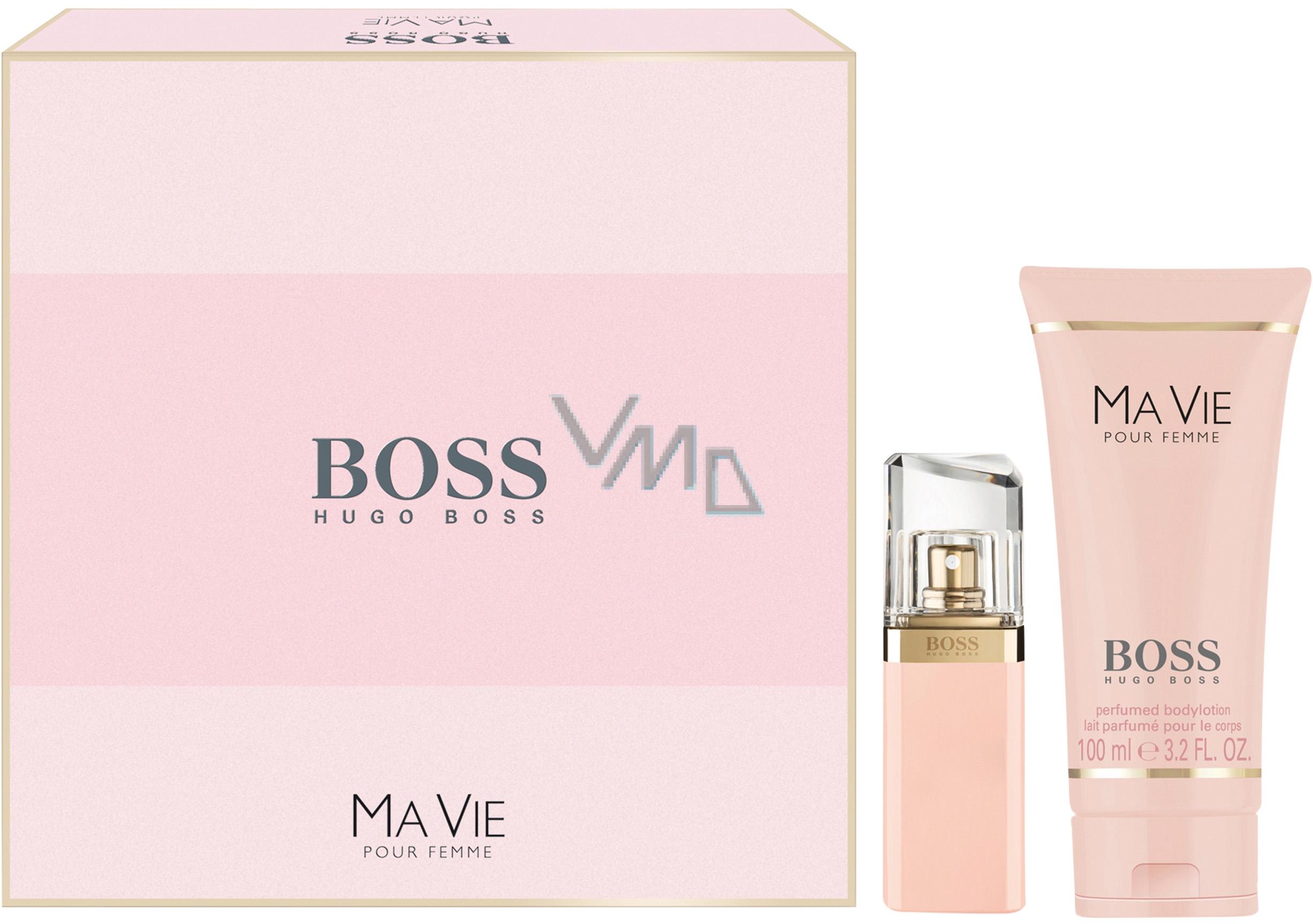 Hugo Boss Ma Vie pour Femme parfémovaná voda 30 ml + tělové mléko 100 ml, dárková sada