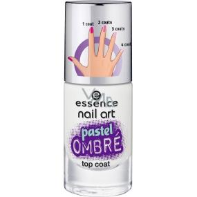 Essence Nail Art Pastel Ombré Top Coat krycí lak 27 Blurry Up! 8 ml