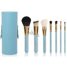 Be Chic! Blue Perfect sada 7 ks kosmetických štětců, kosmetická sada