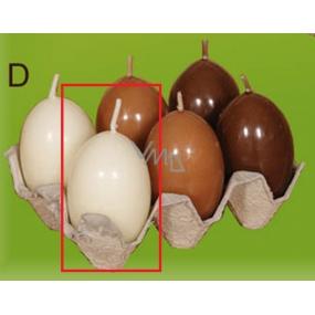 Lima Vajíčko s vůní svíčka béžová 40 x 60 mm 1 kus