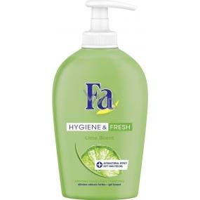 Fa Hygiene & Fresh Lime Scent tekuté mydlo dávkovač 250 ml