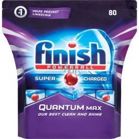 Finish Quantum Max Regular tablety do myčky nádobí 80 kusů