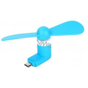 DÁREK Perspirex Micro USB větráček modrý