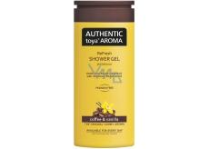 Authentic Toya Aroma Coffee & Vanilla aromatický sprchový gel 400 ml