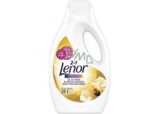 Lenor 2v1 Color Gold Orchid tekutý prací gel na barevné prádlo 20 dávek 1,1 l