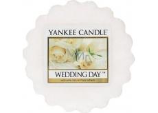 Yankee Candle Wedding Day - Svatební den vonný vosk do aromalampy 22 g