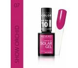 Revers Solar Gel gelový lak na nehty 07 Show Orchid 12 ml