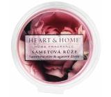 Heart & Home Sametová růže Sojový přírodní vonný vosk 26 g