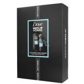 Dove Men + Care Clean Comfort sprchový gel pro muže 250 ml + antiperspirant deodorant sprej 150 ml, kosmetická sada