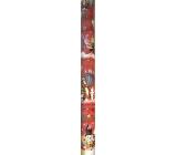 Ditipo Dárkový balicí papír 70 x 200 cm Vánoční Disney Medvídek Pú Tygr červený