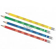 Colorino Tužka s malou násobilkou 1 kus různé barvy
