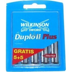 Wilkinson Duplo II Plus náhradní hlavice 5 + 5