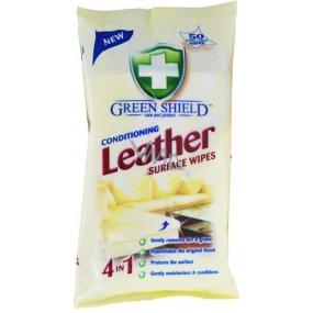 Green Shield Conditioning Leather na kůži vlhčené ubrousky 50 ks