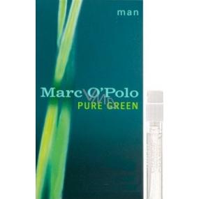 Marc O Polo Pure Green toaletní voda pro muže 1,2 ml s rozprašovačem, Vialka