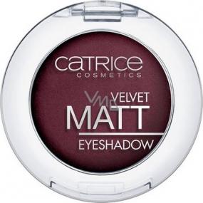 Catrice Velvet Matt Eyeshadow oční stíny 040 Al Burgundy 3,5 g