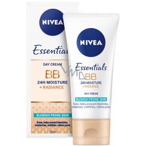 Nivea Essentials denní BB Krém zmatňující pro problematickou pleť 50 ml