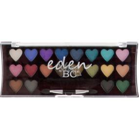 Eden BC Perfect Hearts 24 očních stínů dětská kosmetická kazeta