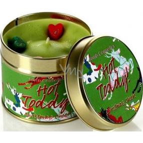 Bomb Cosmetics Horký grog - Hot Toddy Candle Vonná přírodní, ručně vyrobena svíčka v plechové dóze hoří až 35 hodin