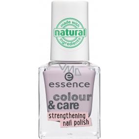 Essence Colour & Care Strengthening Nail Polish lak na nehty 03 Happy Nails 8 ml