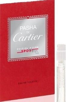 Cartier Pasha Edition Noire Sport toaletní voda pro muže 1,5 ml s rozprašovačem, Vialka