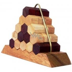 Albi Hlavolam Beehive Pyramid, Dřevěný designový hlavolam