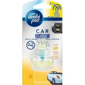 Ambi Pur Car Anti Tobacco Citrus osvěžovač vzduchu do auta náhradní náplň 7 ml