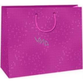 Ditipo Dárková papírová taška velká růžová 38 x 10 x 29,2 cm DAA