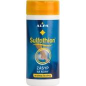 Alpa Sulfothion zásyp na nohy se sírou 100 g