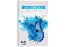 Bispol Aura Anti Tobacco s vůní vonné čajové svíčky 6 kusů